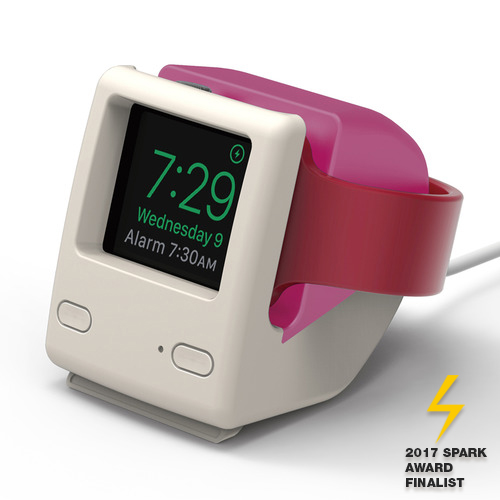 W4 Stand for Apple watch (1,2,3,4 세대 공용)- Aqua Pink