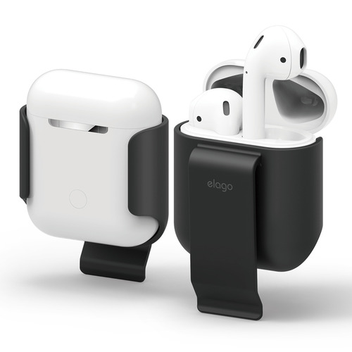 Airpods Case / clip - Black