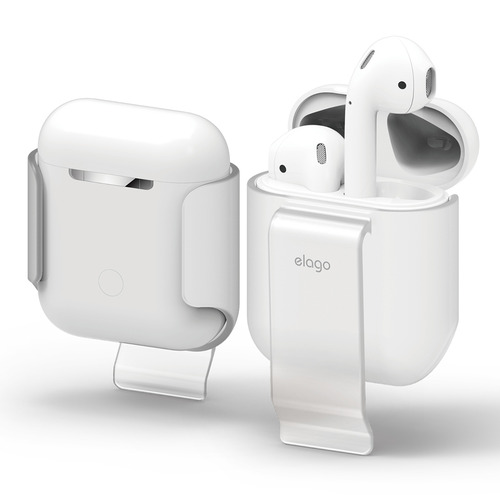 Airpods Case / clip - Frosted Transparent