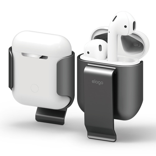 Airpods Case / clip - Metalic Dark Gray