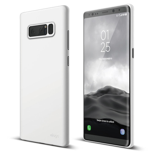Galaxy Note 8 Origin Case - White