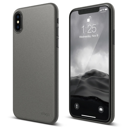 SX Inner Core case for iPhone X - Dark Gray