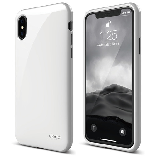 SX Cushion case for iPhone X - White