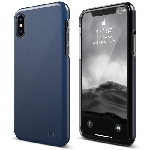 IPhone X Slim Fit 2 case - Pearl Blue