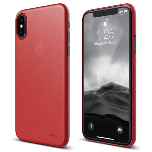 SX Inner Core case for iPhone X - Red