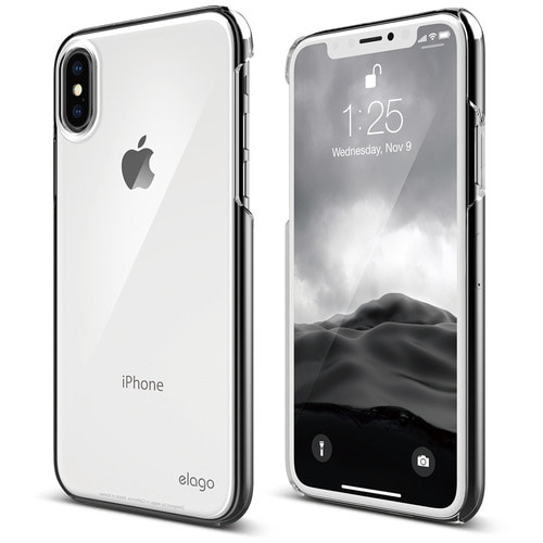 SX Slim Fit 2 case for iPhone X - Crystal Clear (유광)
