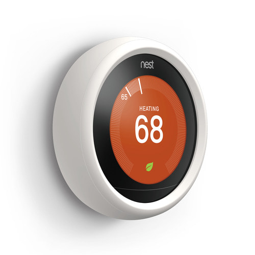 NEST Thermostat Controller Silicone Grip -White