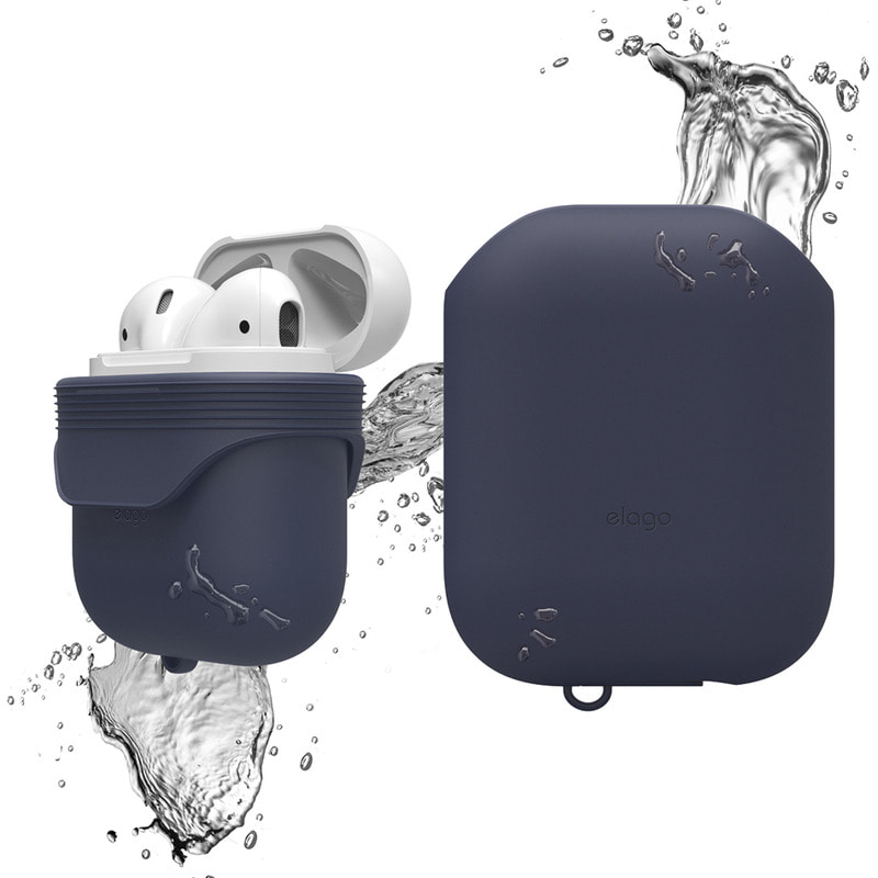 Airpods waterproof Case / Jean indigo