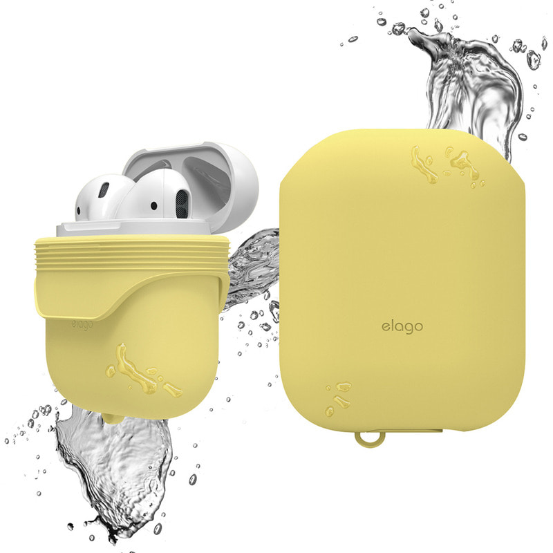 Airpods waterproof Case / Creamy Yellow