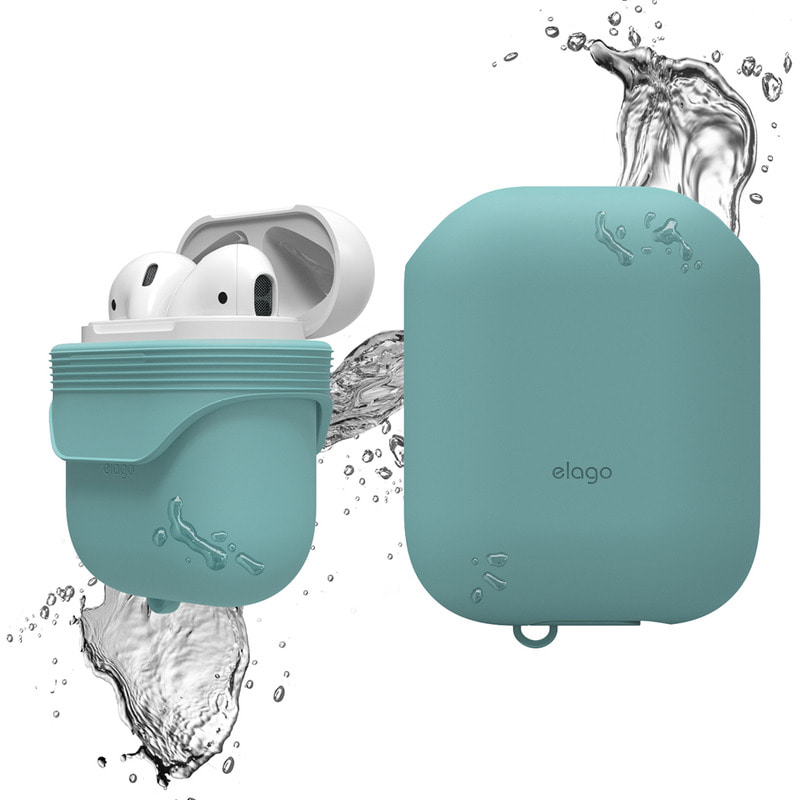 Airpods waterproof Case / Coral Blue